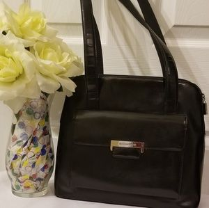 Black Enzo Angiolini Bag